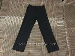 Черные школьные брюки marks&spenser, 14-15 лет сзади резинка