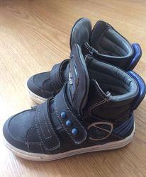 Кожаные ботинки детские