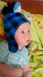 Новый фирменный комплект шапка и варежки
