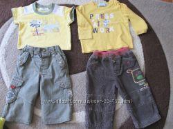 фирменные штанишки Next, George для мальчика