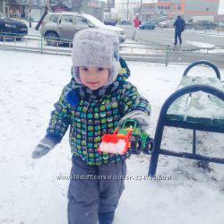 Зимняя тёплая шапка р. 48