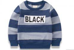 Свитшот с надписью Black детский