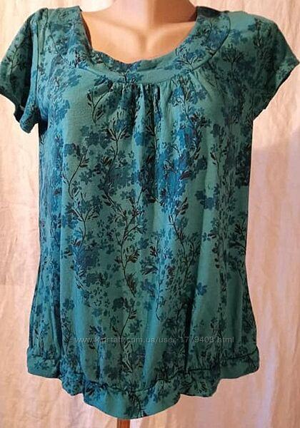 Блузка темно-голубая Debenhams р. 46 для беременной