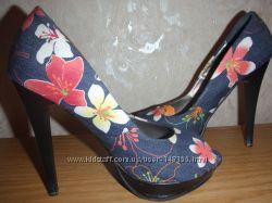 туфли из текстиля