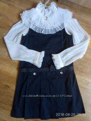 Нарядная школьная блузка р 140 тм grazina Польша