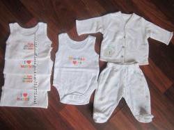 Брендовая одежда для новорожденных недорого, новое и в отличном состояни