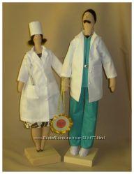 Тильды доктор и медсестра