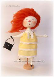 Кукла по мотивам Е. Гапчинской под заказ