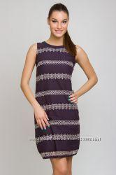 Платье с вышивкой натуральный хлопок