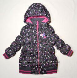 Теплі курточки дівчаткам, 1-6 років