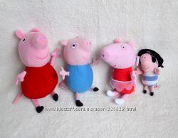 Свинка Пеппа, Джордж, овечка С&acuteюзі, Кітті, Мінні