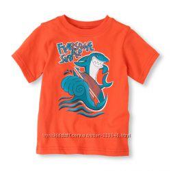Новые футболки CHILDRENS PLACE для мальчика 4-6 лет