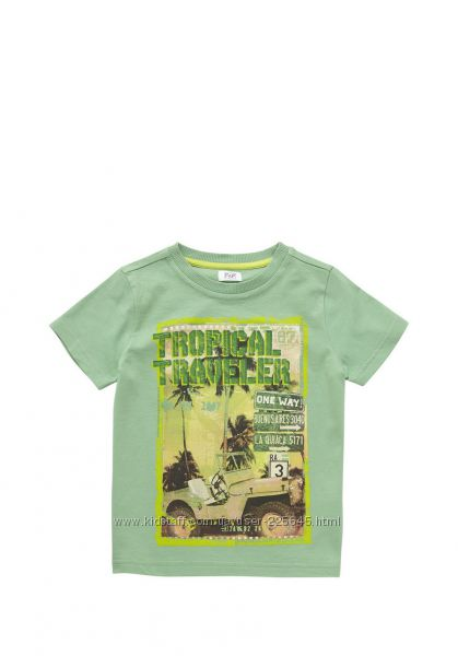 Новая футболка F&F для мальчика на 6-7лет