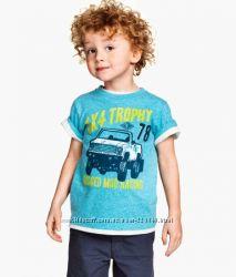 Распродажа Новые футболки H&M на 2-4 года, 4-6 лет