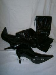 черные ботфорды Blossem 39 размера