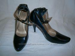 кожаные туфли SteFani 40 размера