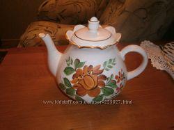 большой чайник для заварки чая  на 2. 5 литра времен СССР