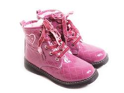 лаковые теплые ботинки Cool Club Польша