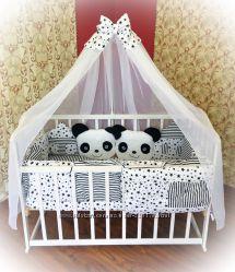 Комплект постельного в кроватку Bonna