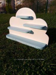 Полочка настенная облако