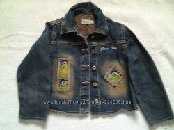 Джинсовый пиджак на 4-5 л