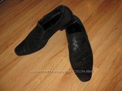 Brooman мужские туфли р. 43 нат замша, кожа