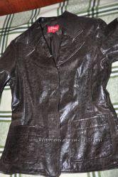 Продам кожаную куртку S. Oliver, БУ