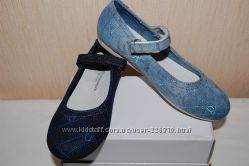 Новые джинсовые туфли, балетки Шалунишка ортопед супер цена