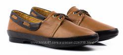 Акция. Новые полностью кожанные туфли, мокасины Golderr р. 36