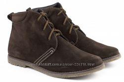 Распродажа новые кожанные демисезонные ботинки Braska Kids р. 34