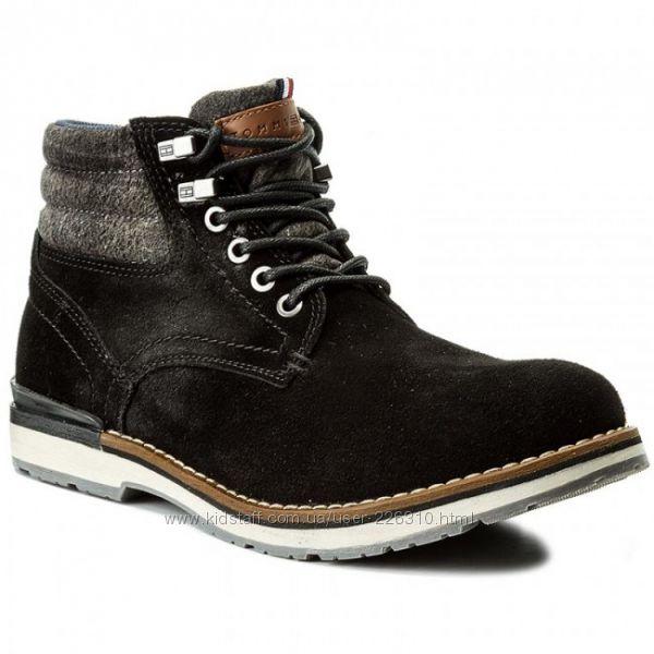 Распродажа. Новые замшевые ботинки Tommy Hilfiger р. 36, 37, 38