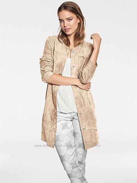 куртка велюровая замша жакет heine размер 44 евро