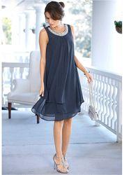 Коктейльное вечернее платье р-р 46-48