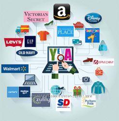 Amazon, 6pm, gap, ugg, gilt и другие магазины Америки
