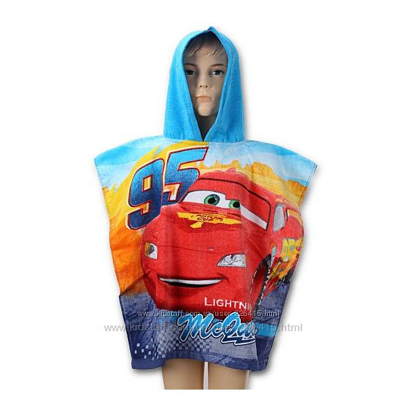 Пляжные полотенца - пончо Disney для деток