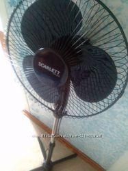 Вентилятор Скарлет бу