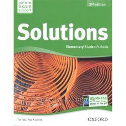 Книги Solutions Английский язык. Все уровни.
