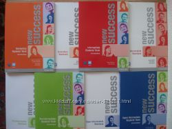 Книги New Success. Student BookWorkbook with CD-ROM. Новые