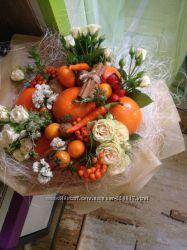 Фруктовый букет, овощной букет