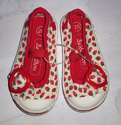 Туфли мокасины Bobbi Shoes 20 р