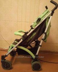 Коляска трость Miracolo Rainbow D200 - Green