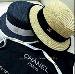 Шляпка канотье от Chanel в наличии
