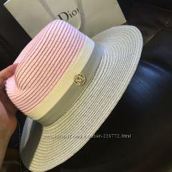 Стильная шляпка Maison Michel в пастельных тонах