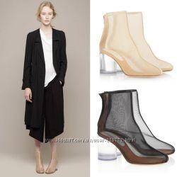 Прозрачная обувь от Maison Martin Margiel яркий тренд текущего сезона