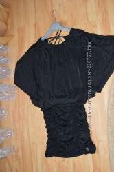 Оригинальное  красивое платье -туника , Летучая мышка
