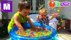 Шарики Орбиз Orbeez-гидрогель аквагрунт для детских игр и развития