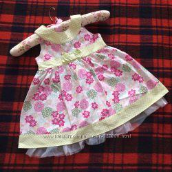 Летние платья, сарафаны, ромперы для девочки от 0 до 1, 5 лет