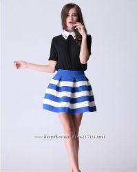 юбка в полоску-супер