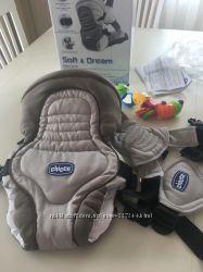 Нагрудная сумка Chicco Soft&Dream , рюкзак- кенгуру для ребёнка