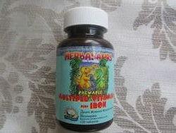 Витазаврики 120 шт. Натуральные витамины для детей. США. НСП